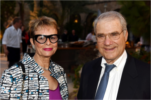 Ruth and Sandy Frankel on behalf of The Leona M. and Harry B. Helmsley Charitable Trust